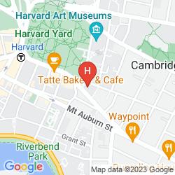 Mapa THE INN AT HARVARD