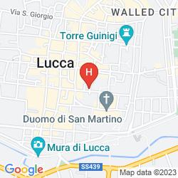 Mapa ANTICA RESIDENZA DEL GALLO
