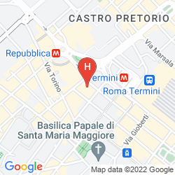 Mapa NORD NUOVA ROMA