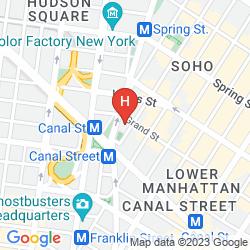 Mapa THE JAMES NEW YORK