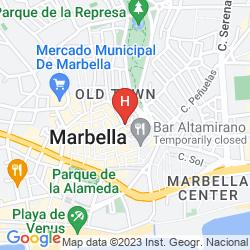Mapa HOSTAL EL CASTILLO