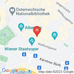 Mapa AUSTRIA TREND HOTEL ASTORIA