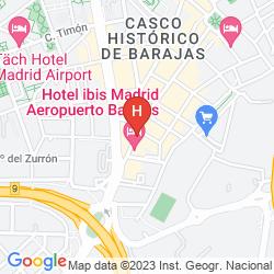 Mapa IBIS MADRID AEROPUERTO