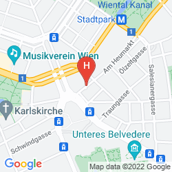 Mapa AM KONZERTHAUS VIENNA MGALLERY BY SOFITEL