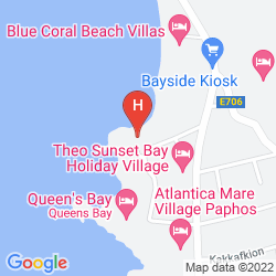 Mapa VRACHIA BEACH RESORT