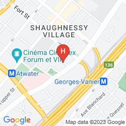 Mapa HOTEL LE SAINT MALO
