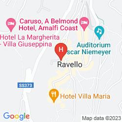 Mapa IL DUCATO DI RAVELLO