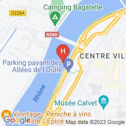 Mapa HOTEL MIGNON
