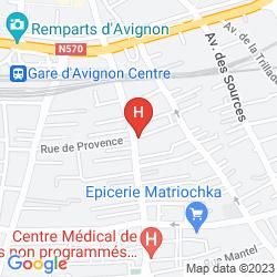 Mapa HOTEL SPLENDID