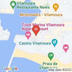 Mapa TIVOLI MARINA VILAMOURA
