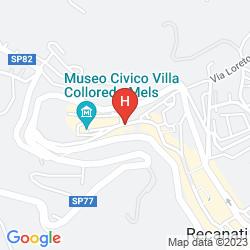 Mapa GALLERY HOTEL RECANATI