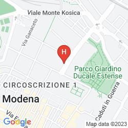 Mapa BEST WESTERN HOTEL LIBERTA'