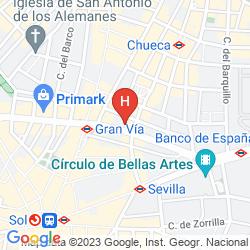 Mapa ROOM PRIDE
