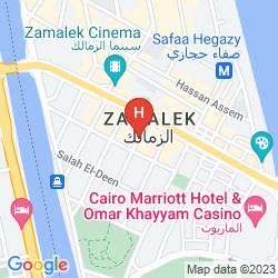Mapa HORUS HOUSE HOTEL ZAMALEK