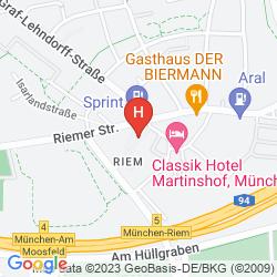 Mapa HOTEL GRAF LEHNDORFF