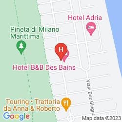 Mapa DES BAINS