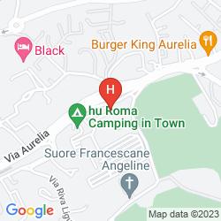 Mapa CAMPING VILLAGE ROMA