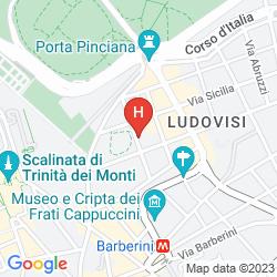 Mapa BERG LUXURY HOTEL