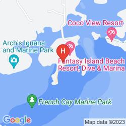 Mapa FANTASY ISLAND DIVE RESORT