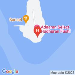 Mapa ADAARAN SELECT HUDHURANFUSHI