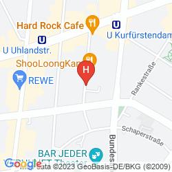 Mapa BERLIN MARK HOTEL