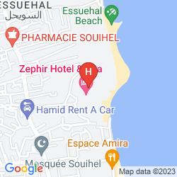 Mapa ZEPHIR HOTEL & SPA