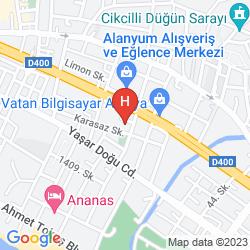 Mapa CLUB BIG BLUE