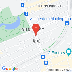 Mapa THE MANOR AMSTERDAM