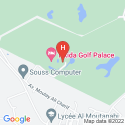 Mapa TIKIDA GOLF PALACE