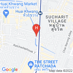 Mapa THE EMERALD HOTEL BANGKOK