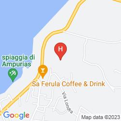 Mapa BAJALOGLIA RESORT