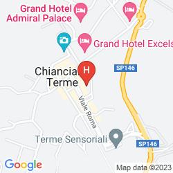 Mapa GRAND HOTEL MILANO