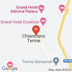 Mapa HOTEL EDY