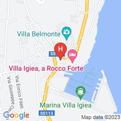 Mapa GRAND HOTEL VILLA IGIEA MGALLERY COLLECTION