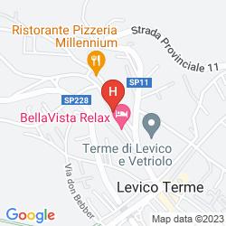 Mapa BELLAVISTA RELAX HOTEL