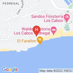 Mapa THE RESORT AT PEDREGAL