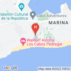 Mapa SANDOS FINISTERRA LOS CABOS ALL INCLUSIVE RESORT