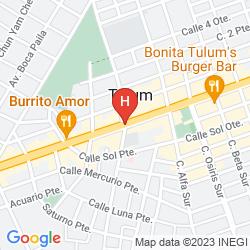 Mappa CABAÑAS ZAHRA