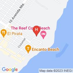 Mappa THE REEF COCO BEACH