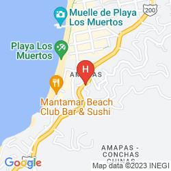 Mappa CASA ANITA Y CORONA DEL MAR BOUTIQUE
