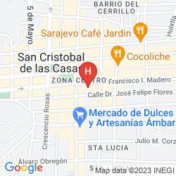 Mappa GRAN HOTEL EL ENCANTO