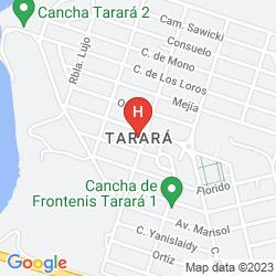 Mappa VILLA ARMONIA TARARA