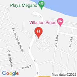 Mappa VILLA MEGANO