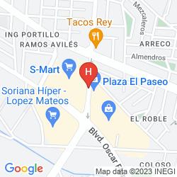 Mappa PLAZA CONSULADO