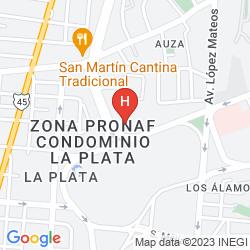 Mappa PLAZA JUAREZ