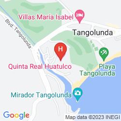 Mappa QUINTA REAL HUATULCO