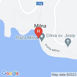 Mappa HOTEL FORTUNA