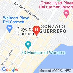 Mappa XPERIENCE HOTELS - AQUALUNA BOUTIQUE HOTEL