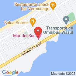 Mappa MAR DEL SUR