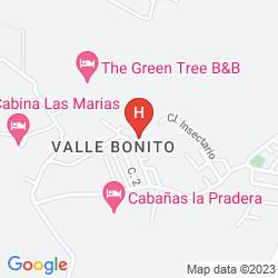 Mappa FINCA VALVERDE'S